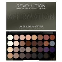 Šešėlių paletė Makeup Revolution 32 eye shadow palette Affirmation Šešėliai akims