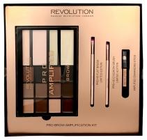 Šešėlių paletė Makeup Revolution Brow Amplification eyelash adjustment kit Šešėliai akims