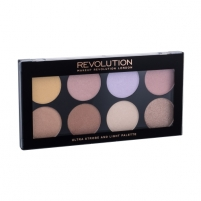Šešėlių paletė Makeup Revolution London Ultra Strobe And Light Palette Cosmetic 11,5g Šešėliai akims