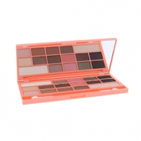 Šešėlių paletė Makeup Revolution London I Love Makeup I Heart Chocolate And Peaches Cosmetic 22g