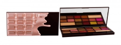 Šešėlių paletė Makeup Revolution London I Love Makeup I Heart Chocolate Rose Gold Cosmetic 21,96g Šešėliai akims