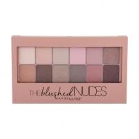 Šešėlių paletė Maybelline The Blushed Nudes Eyeshadow Palette Cosmetic 9,6g Šešėliai akims