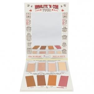 Šešėlių paletė TheBalm Highlite´N Con Tour Palette Cosmetic 21,6g Šešėliai akims
