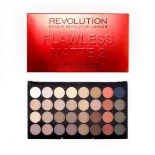 Šešėlių rinkinys Makeup Revolution Flawless Matte 2 (32 Eyeshadow Flawless Matte 2 Ultra Palette) Šešėliai akims
