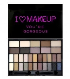 Šešėlių rinkinys Makeup Revolution You´Re Gorgeous (Eye Shadow palette) 14 g Šešėliai akims