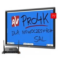 SET: Interaktyvus monitorius Avtek Touchscreen 75 Pro4K + OPS Pro4K Celeron Interaktyvus pristatymas