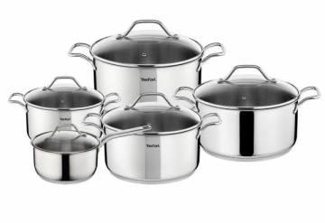 Sets of pots Tefal A702SC84 Intuition Puodų rinkiniai