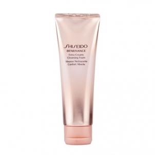 Shiseido BENEFIANCE Extra Creamy Cleansing Foam Cosmetic 125ml Veido valymo priemonės