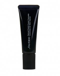 Shiseido Natural Finish Cream Concealer 10ml (Dark) Maskuojamosios priemonės veidui