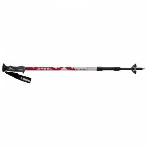 Šiaurietiško ėjimo lazdos Mont Blanc Red Nordic walking sticks