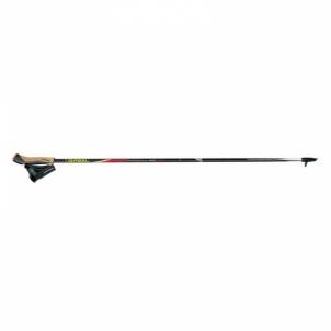 Šiaurietiško ėjimo lazdos Stride FX-75 snake carbon size 115 Nordic walking sticks