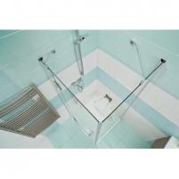Sieninis dušo maišytuvas Rosa, 150 mm Dušo maišytuvai