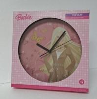 Sieninis laikrodis Barbie 485689 Interjero laikrodžiai