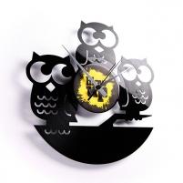 Sieninis laikrodis Discoclock 004 Sovy Interjero laikrodžiai