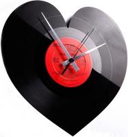 Sieninis laikrodis Discoclock 044 Heart Interjero laikrodžiai