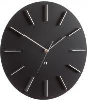 Sieninis laikrodis Future Time Round Black FT2010BK Interjero laikrodžiai, metereologinės stotelės