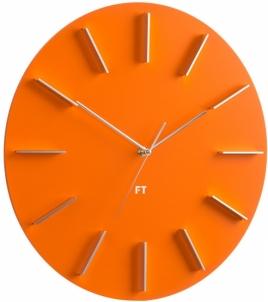 Sieninis laikrodis Future Time Round Orange FT2010OR Interjero laikrodžiai