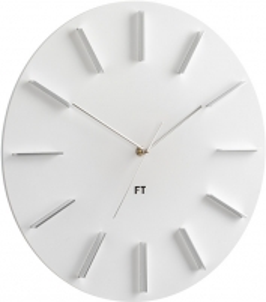 Sieninis laikrodis Future Time Round White FT2010WH Interjero laikrodžiai, metereologinės stotelės
