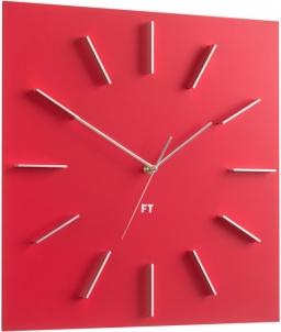 Sieninis laikrodis Future Time Square Red FT1010RD Interjero laikrodžiai, metereologinės stotelės