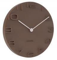Sieninis laikrodis Karlsson KA5311BR Interjero laikrodžiai