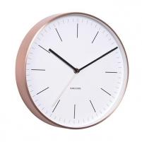 Sieninis laikrodis Karlsson KA5507WH Sienas pulksteņi