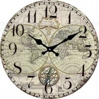 Sieninis laikrodis Lowell 14863