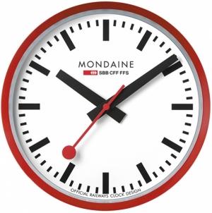 Sieninis laikrodis Mondaine A990.CLOCK.11SBC Interjero laikrodžiai