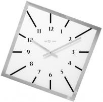 Sieninis laikrodis Nextime Off Balance 8176wi Interjero laikrodžiai