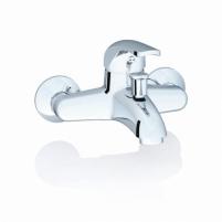 Sieninis vonios/dušo maišytuvas Rosa, 150 mm Shower faucets