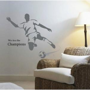 Sienos lipdukas Futbolo Aistruolis, 110x120 cm