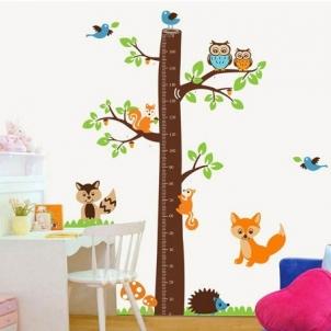 Sienos lipdukas Ūgio Medis, 85x180 cm Prekės namų interjerui