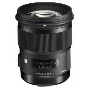 Sigma 50mm F1.4 DG HSM for Canon Lēcas