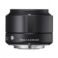 Sigma EX 19mm F2.8 DN for Micro Four Thirds, Black Objektyvai