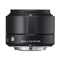 Sigma EX 19mm F2.8 DN for Sony Nex, Black Objektyvai