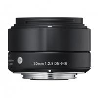 Sigma EX 30mm F2.8 DN for Sony Nex, Black Objektyvai