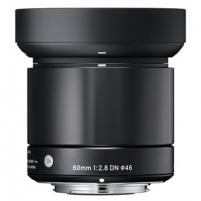 Sigma EX 60mm F2.8 DN for MFT, Black Objektyvai