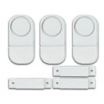 Signalizacija, langų/durų atidarymo, garsinė (3 vnt), HAM103 Įvairūs davikliai