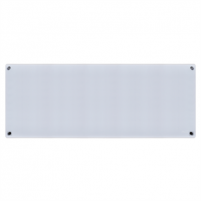 Šildytuvas Mill Glass MB600DN G Panel Heater, 600 W, Suitable for rooms up to 11 m², Number of fins Inapplicable, Grey Konvekciniai šildytuvai