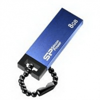 SILICON POWER 16GB, USB 2.0 FLASH DRIVE TOUCH 835, BLUE