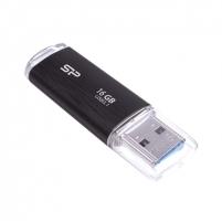 SILICON POWER 16GB, USB 3.1 FLASH DRIVE, BLAZE SERIES B02, BLACK