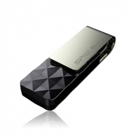 SILICON POWER 32GB, USB 3.0 FlASH DRIVE, BLAZE SERIES B30, BLACK Flash atmintinės