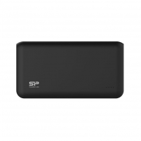 Silicon Power S150 Power Bank 15000mAH, dual output USB, LED, Black