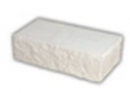 Brick, cleft, white, corner 230x100x71 Sand-lime/calcium silicate brick