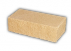 Brick cleft, yellow, corner 230x100x71 Sand-lime/calcium silicate brick