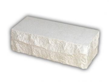 Plyta tašyta balta kampinė 230x85x71 Silikāta ķieģeļu