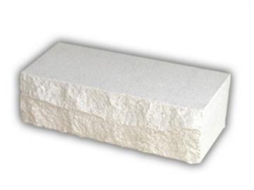 Plyta tašyta balta 250x85x71 Silikāta ķieģeļu