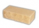 Brick, hewn, yellow 250x88x71 Sand-lime/calcium silicate brick