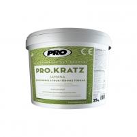 Silicone structural decorative plaster PRO KRATZ moss Decorative renders/plasters