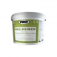 Silicone structural decorative plaster PRO REIBER lietuti Decorative renders/plasters