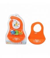 Silikoninis vaikiškas seilinukas su žaisliukais Kitos prekės kūdikiams